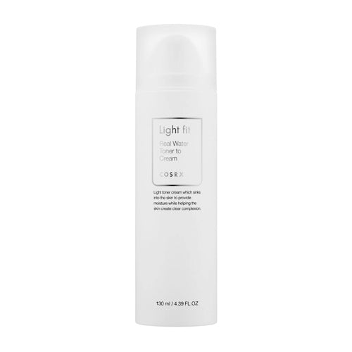 [ COSRX ] Light Fit Real Water Toner To Cream 130 ml / 4.39 fl. oz. - KosBeauty