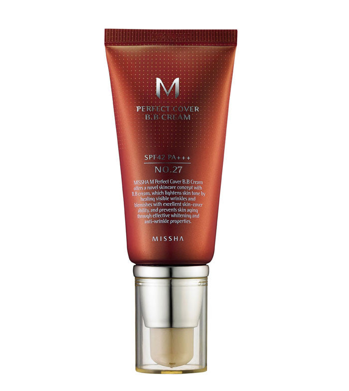 [ Missha ] M Perfect Cover BB Cream No.27 SPF42 PA+++ - KosBeauty