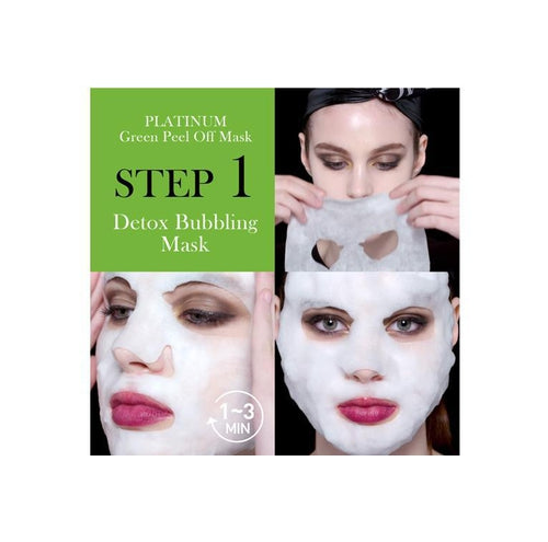 [ DOUBLE DARE ] OMG! Platinum Facial Mask Kit ( Choose your color) - KosBeauty