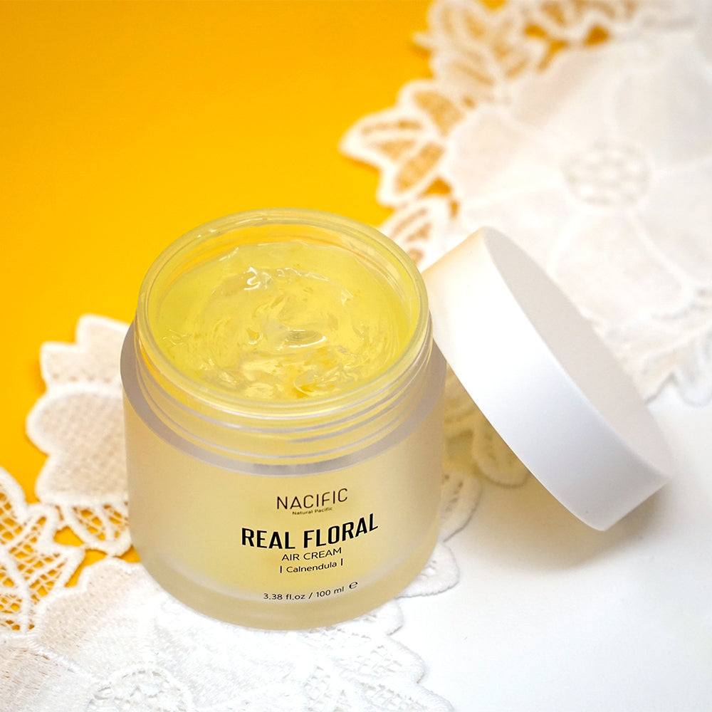 [ NACIFIC ] Real Floral Air Cream Calendula 100 ml / 3.38 oz - KosBeauty