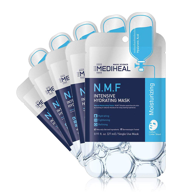 [ MEDIHEAL ] N.M.F. Intensive Hydrating Mask 5-PACK