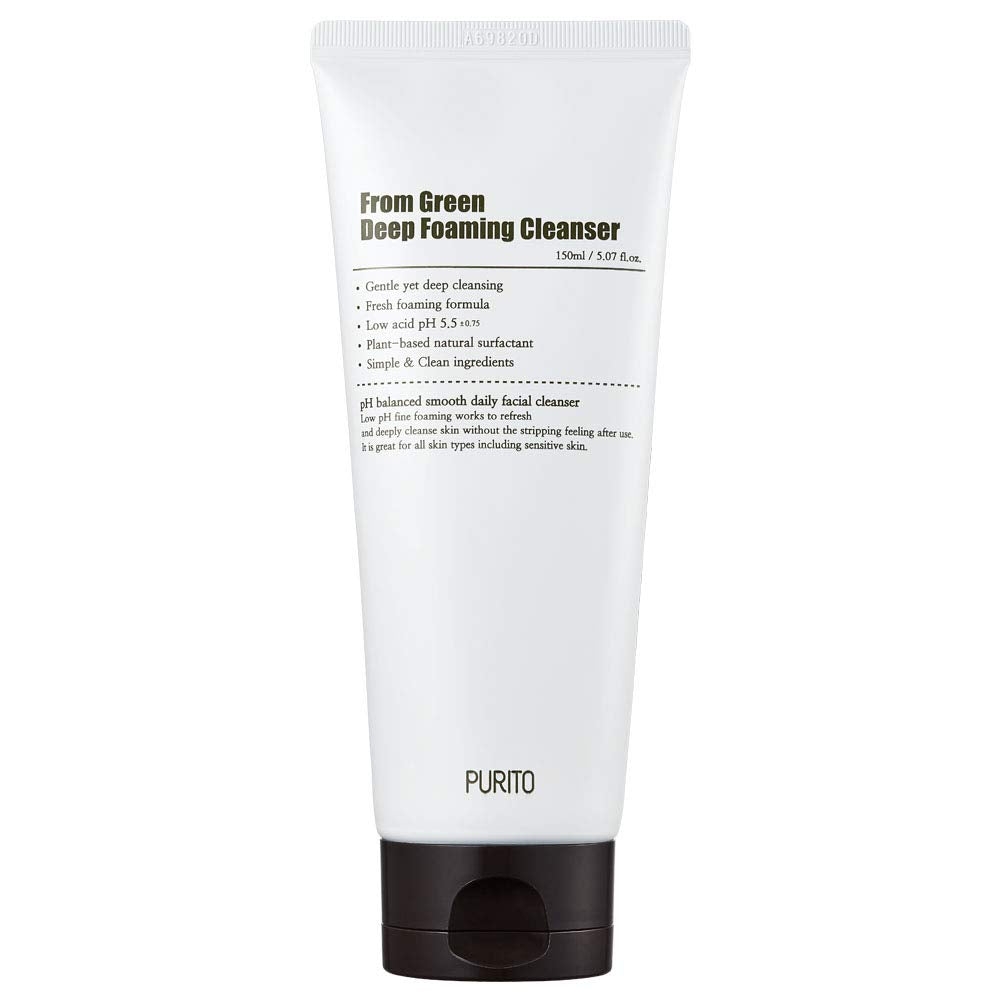 [ PURITO ] From Green Deep Foaming Cleanser 150ml (5.07 fl. oz.)