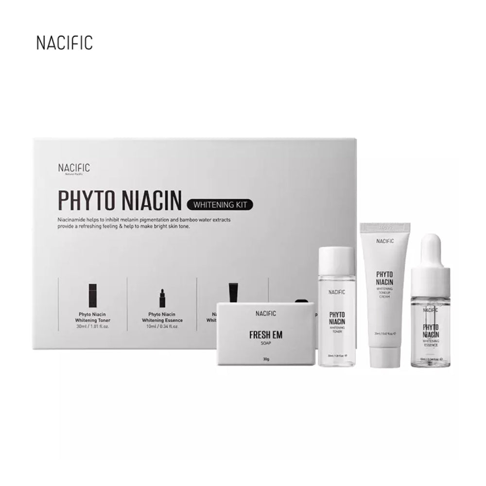 [ NACIFIC ] Phyto Niacin Whitening Kit (4 PCS)