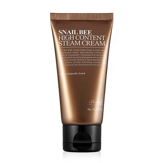 [ BENTON ] Snail Bee High Content Steam Cream 50g - KosBeauty
