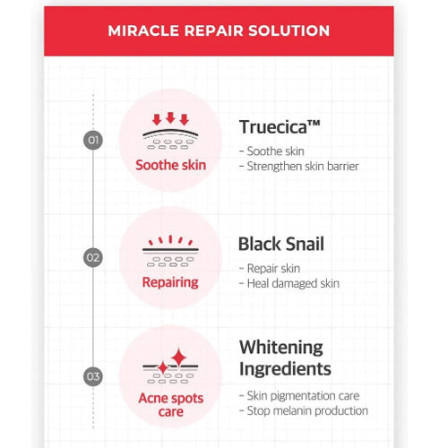 [ SOME BY MI ] Snail Truecica Miracle Repair Toner 135ml (4.56 fl.oz)