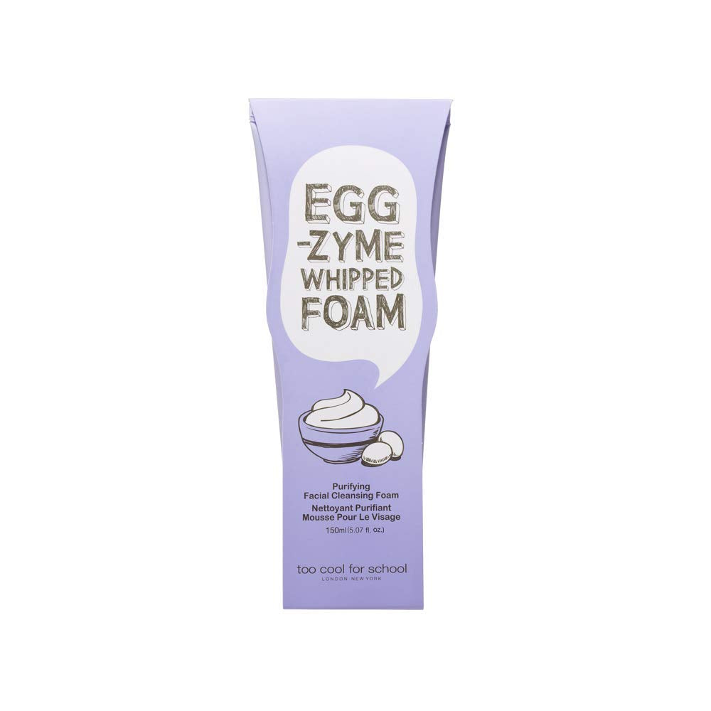 [ Too Cool for School ] Egg-zyme Whipped Foam Facial Cleanser 150g (5.29 oz)