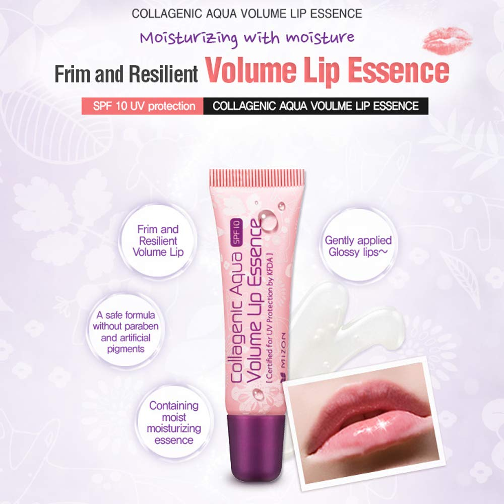 [ MIZON ] Collagenic Aqua Volume Lip Essence 10ml (0.33 fl. oz.)