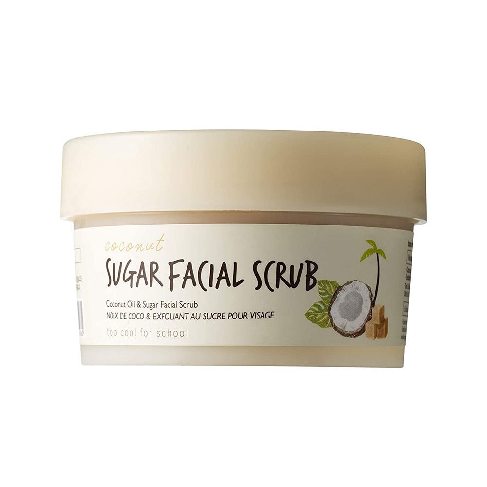 [ Too Cool for School ] Coconut Sugar Facial Scrub 100ml (3.38 fl. oz.)