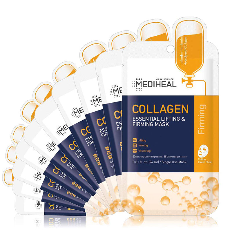 [ MEDIHEAL ] Collagen Essential Lifting & Firming Mask 10-PACK