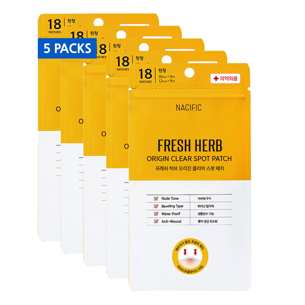 [ NACIFIC ] Fresh Herb Origin Clear Pimple Patch 5-PACK (90 Patches)