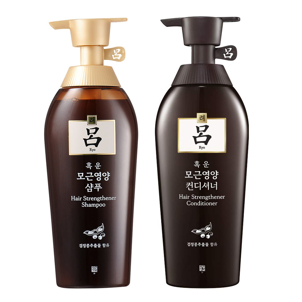 [ RYO ] Hair Strengthener Shampoo & Conditioner SET 500ml