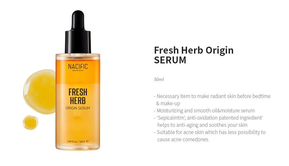 [ NACIFIC ] Fresh Herb Origin Serum (Anti-aging) 50ml - KosBeauty