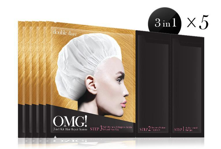 [ DOUBLE DARE ] OMG! 3in1 Kit Hair Repair System - KosBeauty