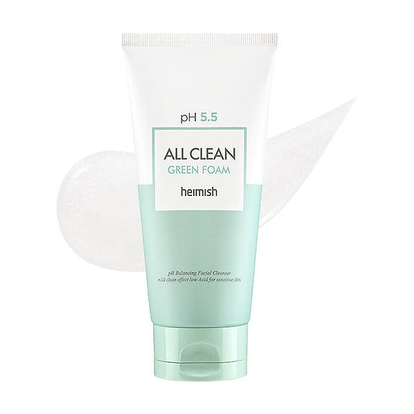 [ HEIMISH ] pH 5.5 All Clean Green Foam 150g - KosBeauty