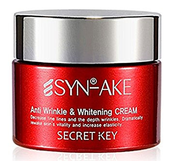 [ Secret Key ] Syn Ake Anti Wrinkle & Whitening Cream 50g