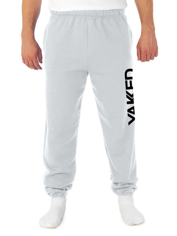 Yakked Uni-Sex Light Grey Sweat Pants