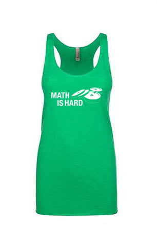 Women's Math is Hard Tank Top