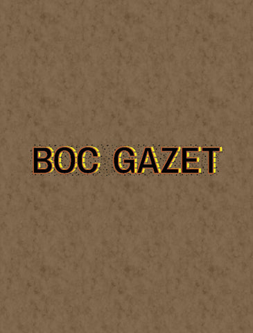 BoC GAZET | SUBSCRIPTION