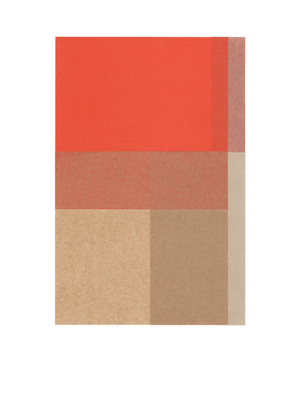 CP | Hot Red/Beige #3 ◉ PRINT