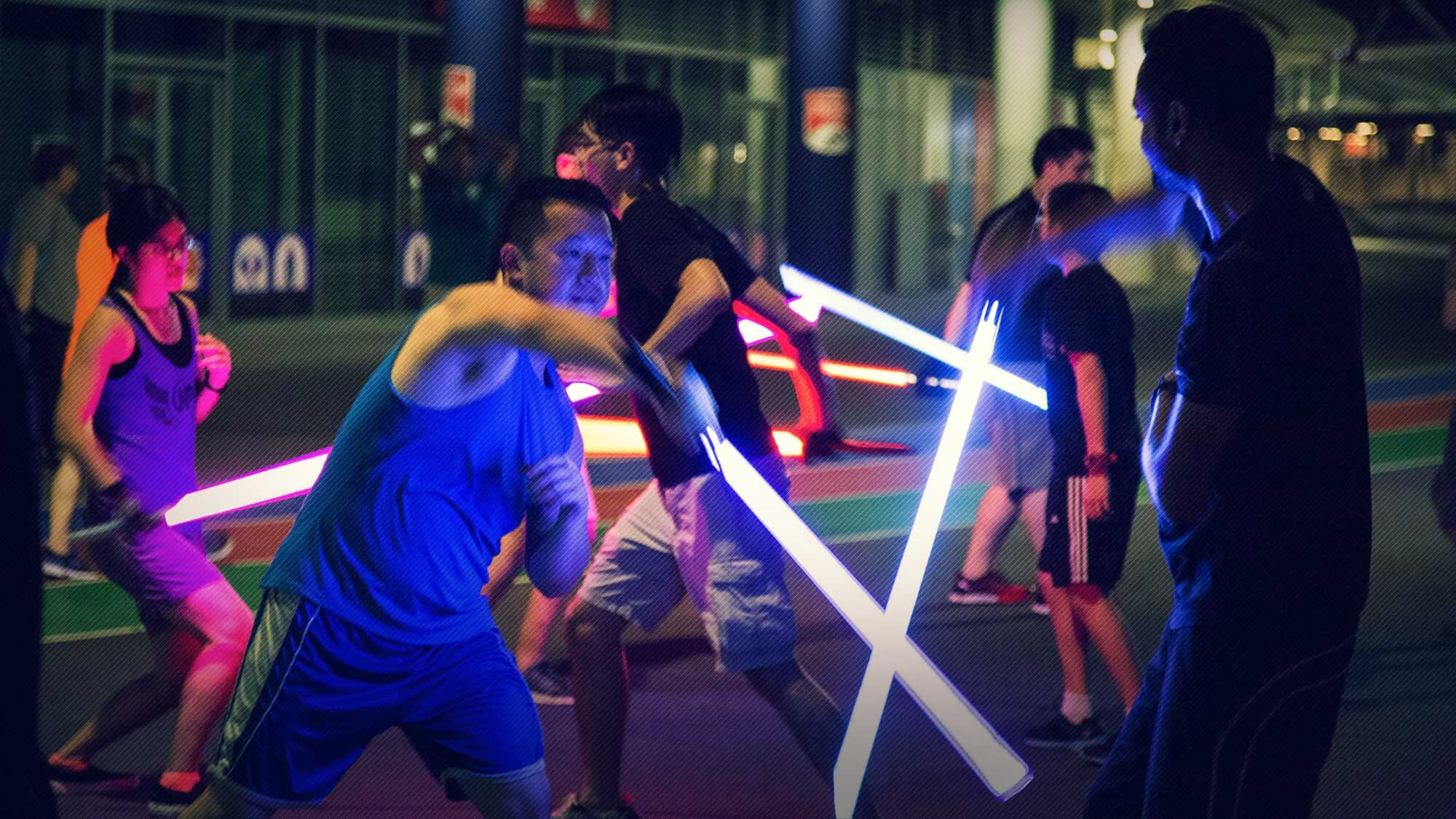 Image result for Lightsaber fighting singapore