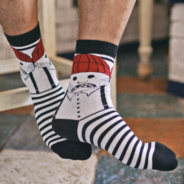 Colorful Striped men's sock