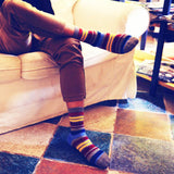 Fashion striped sock