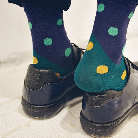 Colorful dot sock