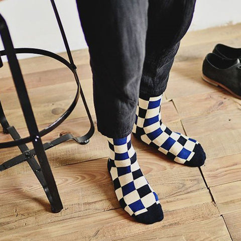 Chesseboard socks