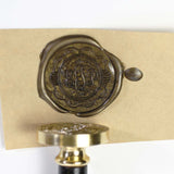 Custom Wax seal stamp, 3 classic monogram custom seal