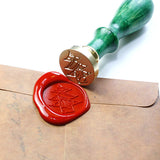 Christmas Tree Seal Wax stamp, sealing stamp