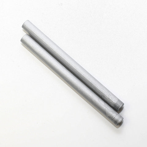 Glue gun seal wax stick, Silver 2 pieces