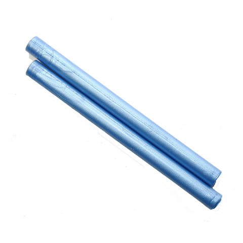 Glue gun seal wax stick, Shimmer Blue 2 pieces