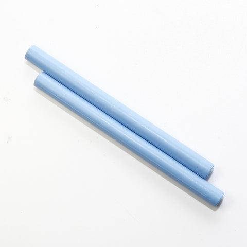Glue gun seal wax stick, Sky Blue 2 pieces