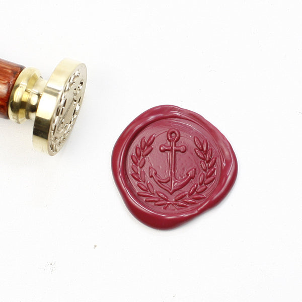 Anchor olive seal stamp