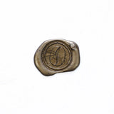 Coffee bean single wax seal stamp,  seal stamp
