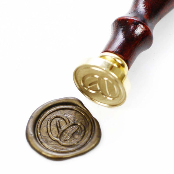Coffee bean wax seal stamp,  seal stamp