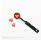 Pink Heart shape Wax button