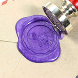Open Me seal stamp