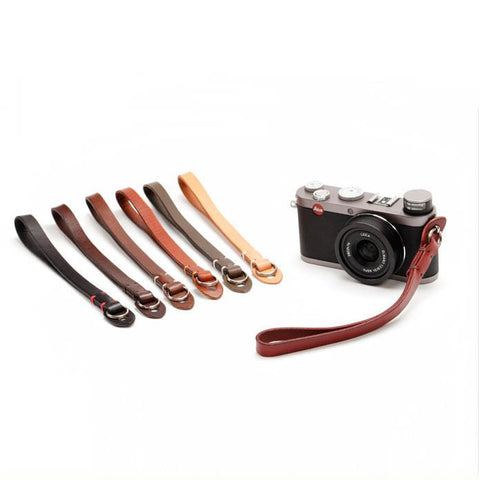Leather Camera Strap,Handmade Straight Genuine Leather Camera Strap