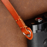 camera neck strap, leather neck strap, Genuine Leather Camera Strap