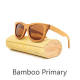 New fashion Products Men Women Glass Bamboo Sunglasses au Retro Vintage Wood Lens Wooden Frame Handmade