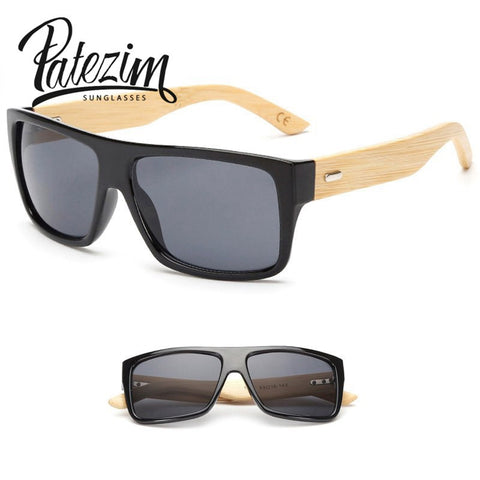 2017 New Bamboo Sunglasses Men Wooden Sun glasses Women