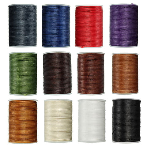 Durable Leather Waxed Thread Cord