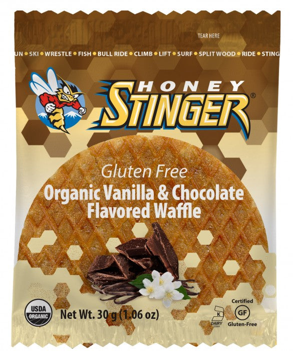 Gluten Free Stinger Waffles: Vanilla Chocolate, 16 ct box