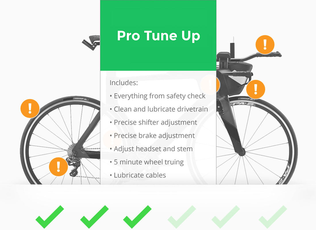 Bike Tune Up >> Pro Tune Up Bikes And Life Race Day Service