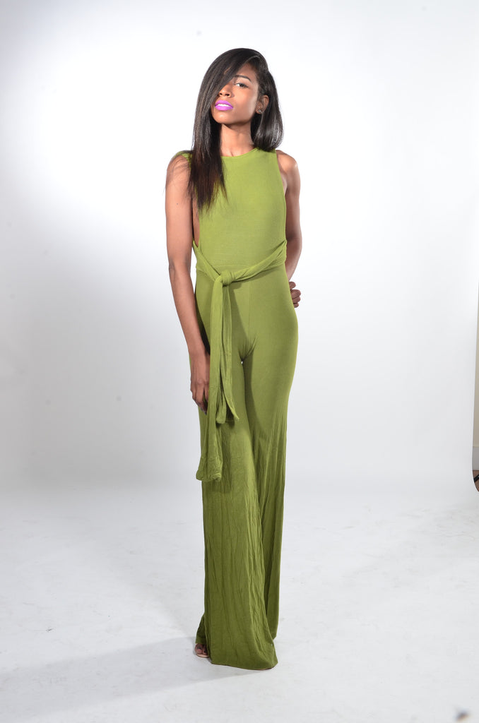 Knotty Jumpsuit (wide fit)