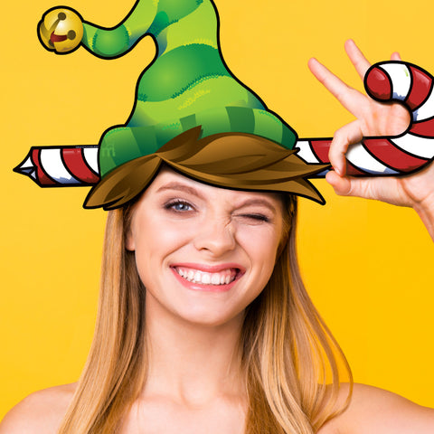 Holiday Elf Photo Prop