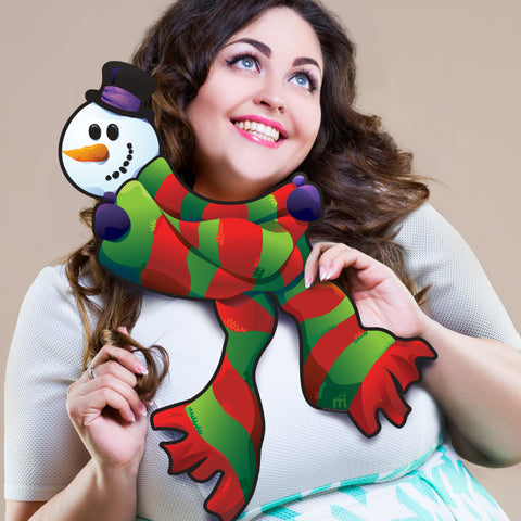 Holiday Scarf Photo Prop