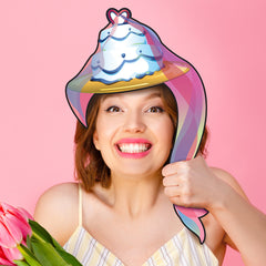 I Do I Do Cake Hat Photo Prop