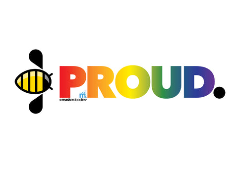 PRIDE Bee Proud T-shirt